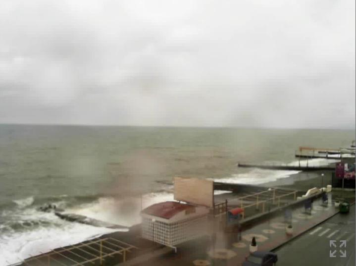 Веб камера онлайн на центральном пляже в Адлере